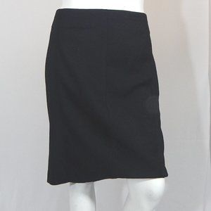 NWOT Black Stitched Accent Skirt by Lane Bryant